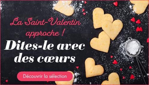 Découvrir la sélection St Valentin