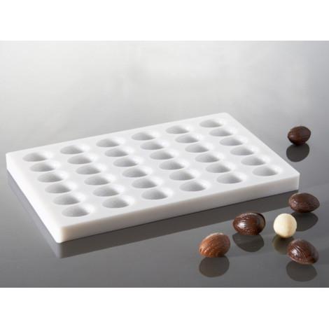 Moule à chocolat petits oeufs striés - Ustensile Guy Demarle