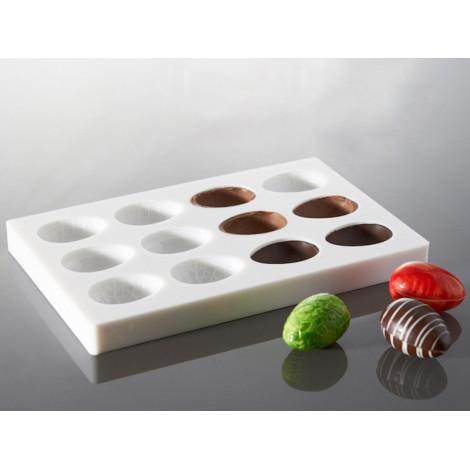 Moule à chocolat oeufs 5,5 cm - Ustensile Guy Demarle