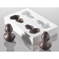 Moule à chocolat canard 10 cm - Ustensile Guy Demarle