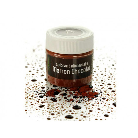 Colorant alimentaire marron chocolat 10 g