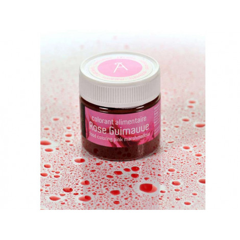 Colorant alimentaire rose guimauve 10 g