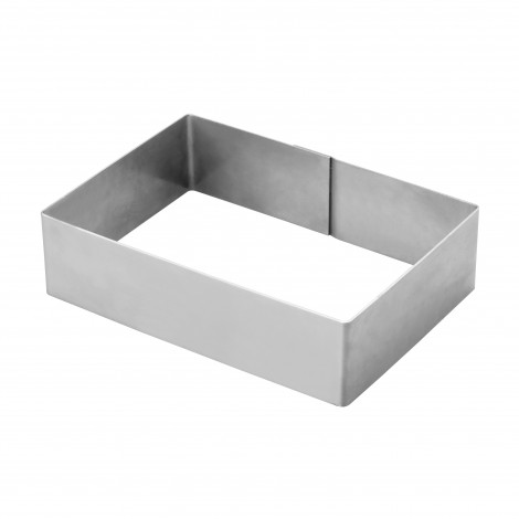 Cadre Rectangulaire inox pour 5/6 parts - Ustensile Guy Demarle