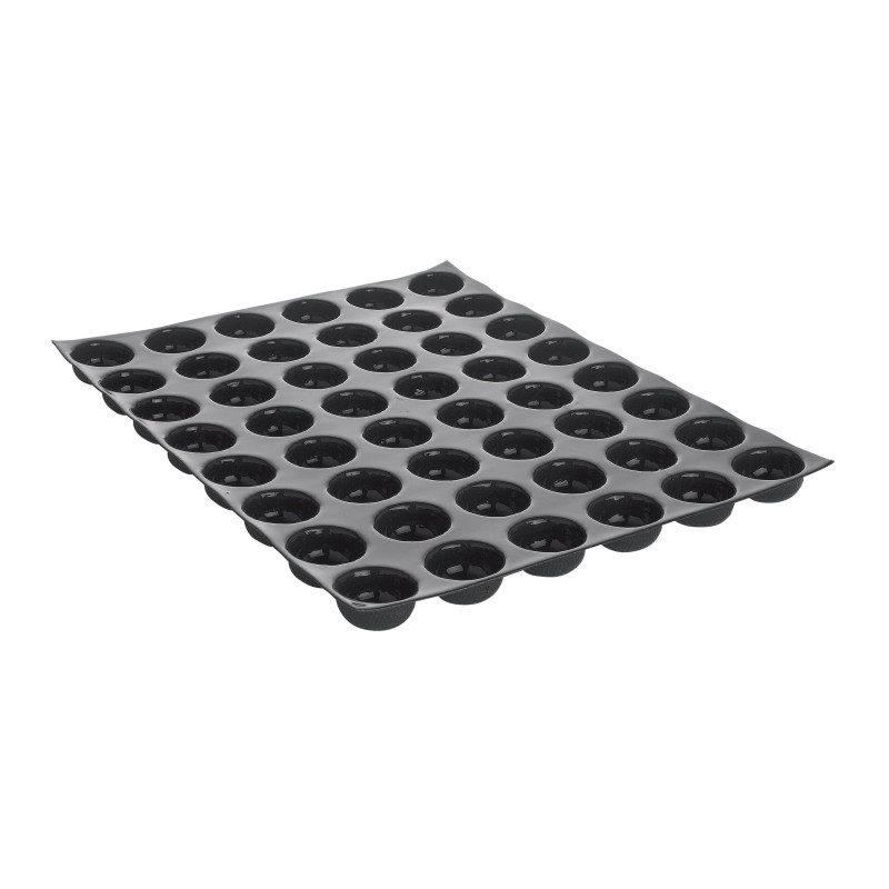 moule 48 petits fours flexipan moules silicone. Black Bedroom Furniture Sets. Home Design Ideas