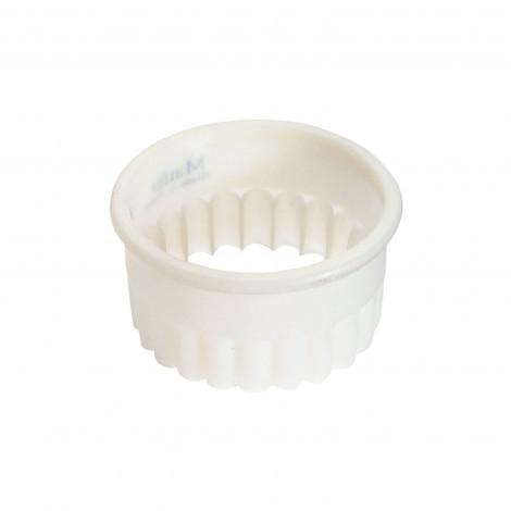 Découpoir rond cannelé Exoglass® 7,5 cm - Ustensile Guy Demarle