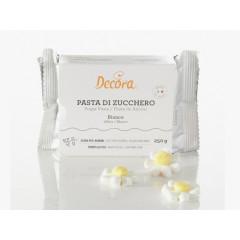 Pâte à sucre blanche 250 g - Décora