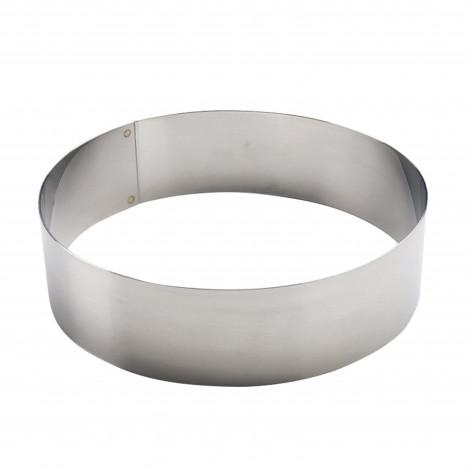 Cercle inox 22 cm - Ustensile Guy Demarle