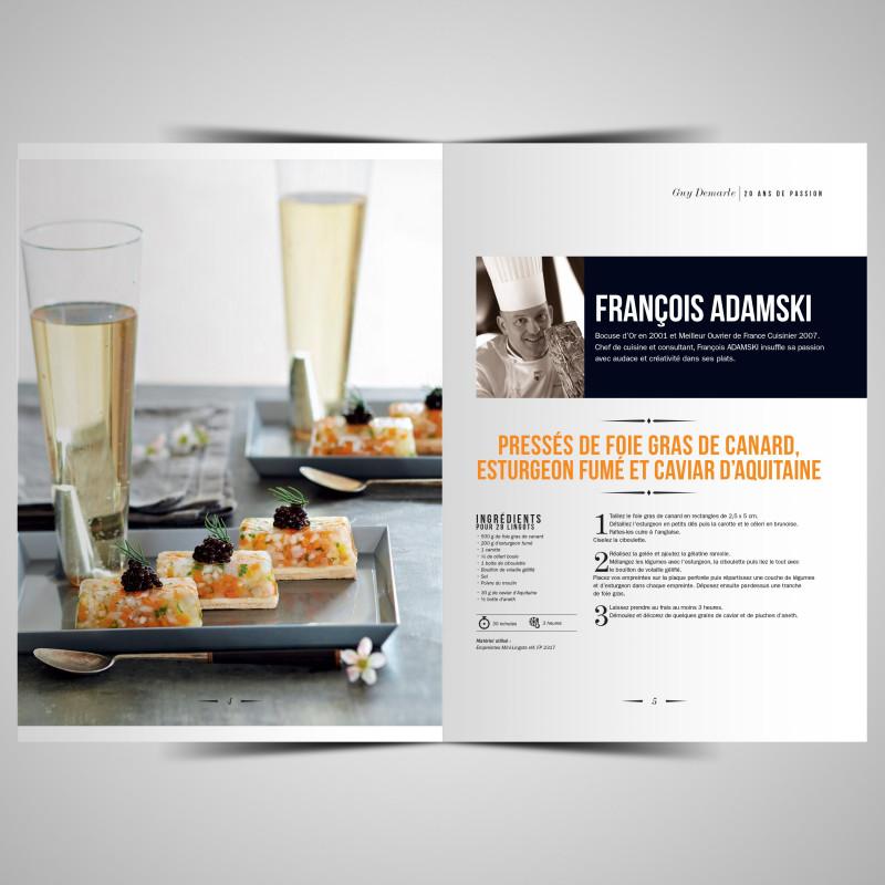 Livre des chefs 20 ans de passion livres de recettes - Livre de cuisine top chef ...