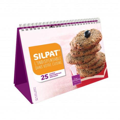 """Chevalet """"SILPAT®, l'indispensable dans votre cuisine"""" - Livre de"""