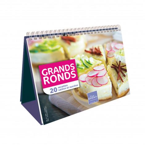 "Chevalet ""Grands Ronds"" - Livre de cuisine Guy Demarle"