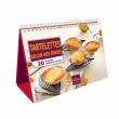"""Chevalet """"Tartelettes selon vos envies"""" - Livre de cuisine Guy Demarle"""