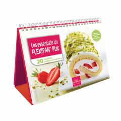 """Chevalet """" Les essentiels du FLEXIPAN® Plat"""" - Livre de cuisine Guy"""