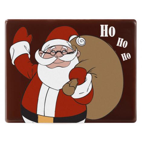 Décor en chocolat noir Père Noël avec réalité augmentée 11 g - Magic