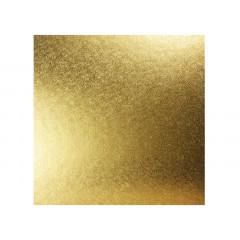 Plateau à gâteau carré doré 25 cm - Ustensile Guy Demarle