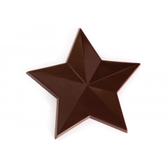 Moule à chocolat 15 étoiles de 5 cm - Cacao Barry