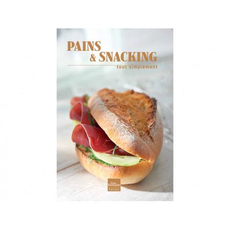 Livre Pains & Snacking, Tout Simplement - Livre de cuisine Guy Demarle
