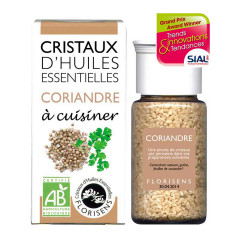 Cristaux d'huiles essentielles Coriandre - Aromandise