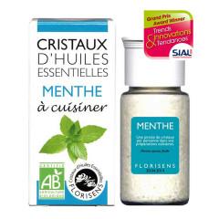 Cristaux d'huiles essentielles Menthe - Aromandise