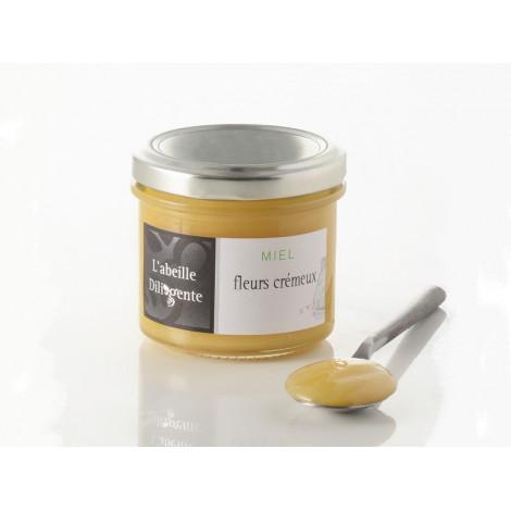 Miel de fleurs crémeux 150 g - L'abeille Diligente