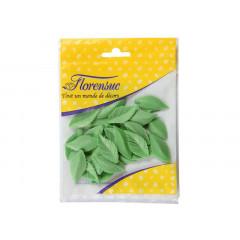 30 feuilles de rose vertes en azyme - Florensuc