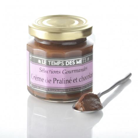Crème de praliné et chocolat 120 g