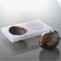 Moule à chocolat Oeuf Origami, 15 cm