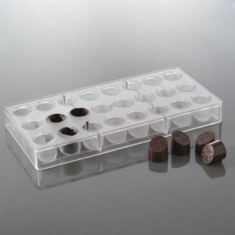 Moule à chocolat 24 bonbons bali