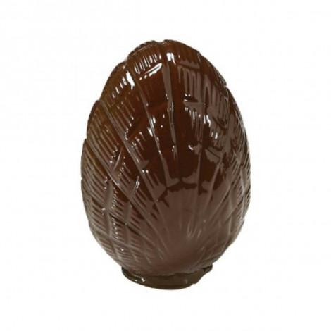 Moule à chocolat oeuf strié 10cm