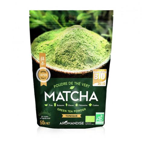 Poudre de thé vert Matcha bio 50g