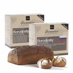 Lot de 2 préparation pour pain Borondinsky