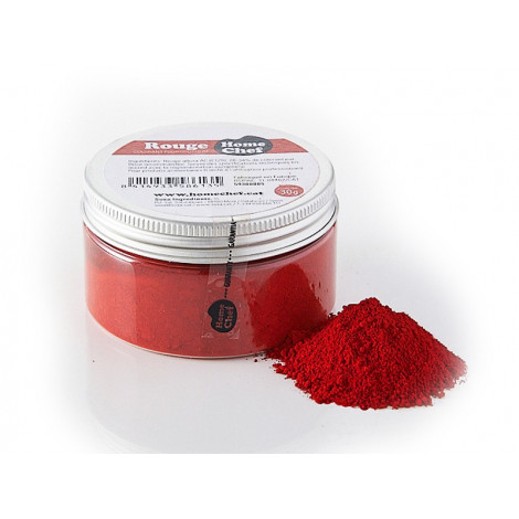 Colorant rouge pour chocolat 30 g - Home Chef