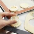 Découpoir rond cannelé Exoglass® 3,5 cm