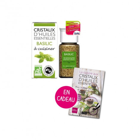 Cristaux d'huiles essentielles Basilic - Aromandise