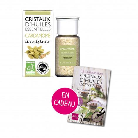 Cristaux d'huiles essentielles Cardamome - Aromandise