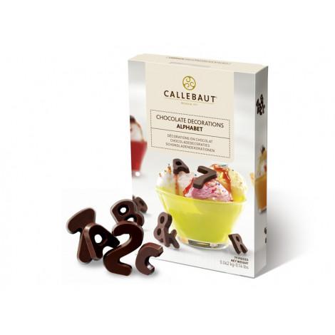 Décors chocolat Alphabet 79 pièces