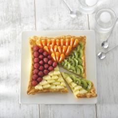 Moule tarte carrée cannelé FLEXIPAN®