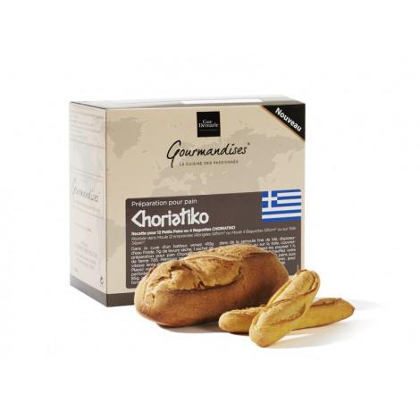 """Préparation pour pain """"choriatiko"""", 3 sachets de 100 g - Gourmandises"""