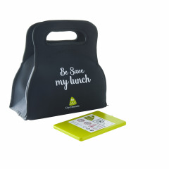 Sac de transport isotherme Lunch box Be Save + Bloc de glace