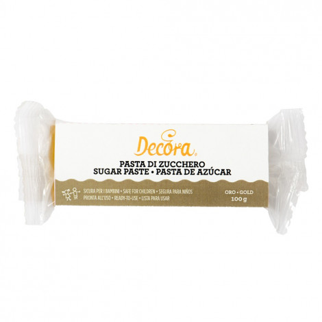 Pâte à sucre dorée, 100 g
