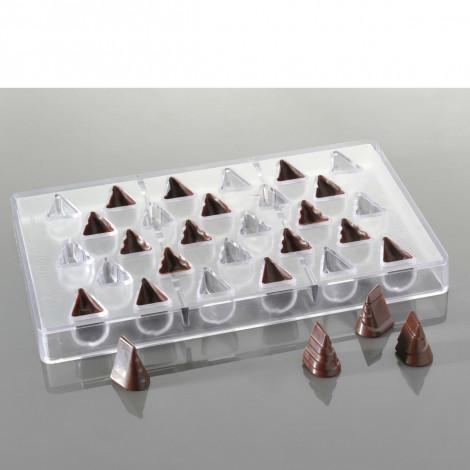 Moule à chocolats – Petits sapins (28 empreintes pour 28 sapins)