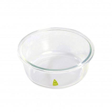 Récipient rond Be Save® en verre 1,3 L / 17,5 cm