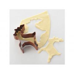 Découpoir renne 10 cm - Ustensile Guy Demarle