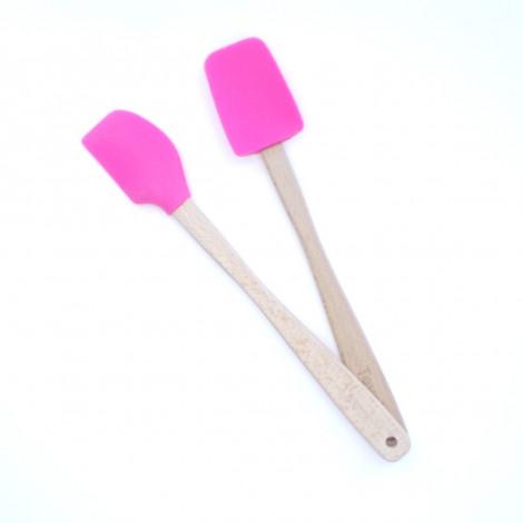Lot de 2 mini spatules