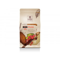 Pistoles de chocolat au lait 40% Ghana 1 kg
