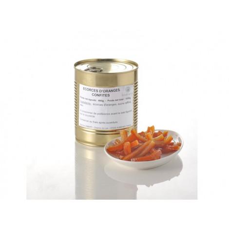Ecorces d'oranges confites en lamelles 1,05 kg
