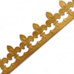 Couronne dorée en sachet individuel