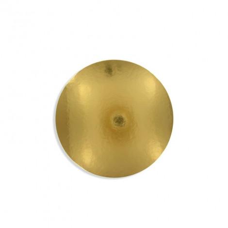 Support à galette doré, diam. 28 cm