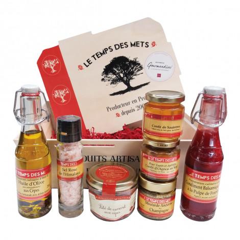 Coffret Gourmand Salé, Le Temps Des Mets, Sélection Gourmandises
