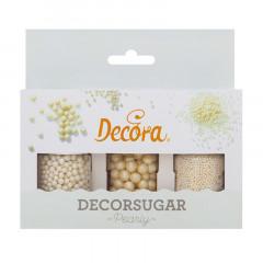 Kit décors sucrés Décora Pearly, 80 g