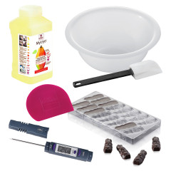 Kit chocolats maisons - Lapins rieur